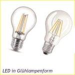 LED Glühlampenform