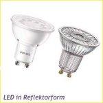 LED Reflektorform