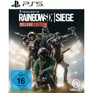 Rainbow Six Siege  PS-5  Deluxe Ed.