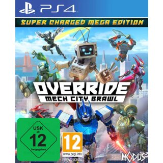 Override: Mech City Brawl  PS-4  S.C. Super Charged Mega Edition