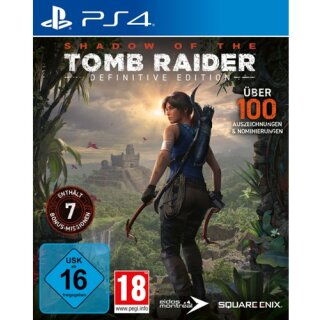 Shadow of the Tomb Raider  PS-4 Def.Ed. Definitive Edition
