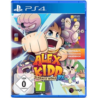 Alex Kidd  PS-4  In Miracle World