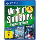 WoS Discover the World  PS-4 World of Simulators  (3 Games)