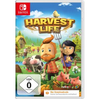 Harvest Life  Switch  (Code in Box)