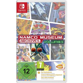 Namco Museum Archives Vol.2  Switch Code in a box