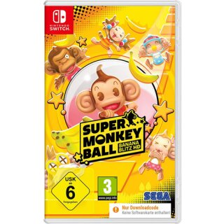 Super Monkey Ball  Switch  CiaB Banana Blitz HD (Code in a Box)
